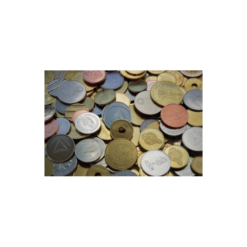 Rūpnieciski ražoti žetoni un monētas