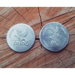 "Aluminum coin ""DUDU ligzdas"""