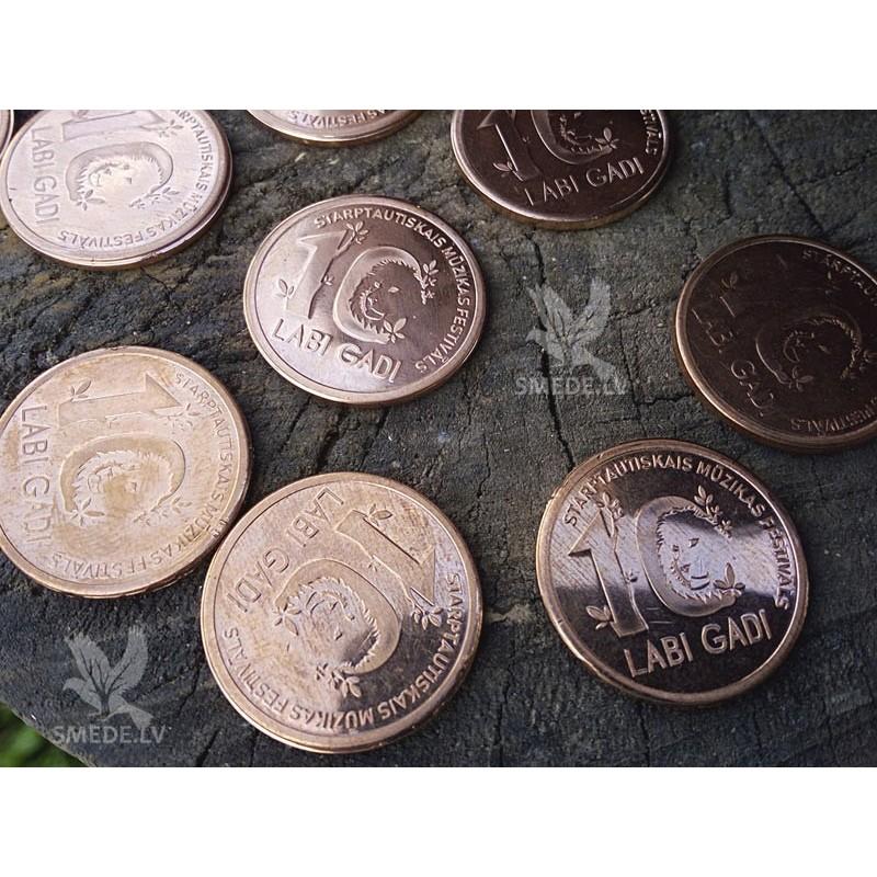 "Kalta vara jubilejas monēta ""LABA DABA"""