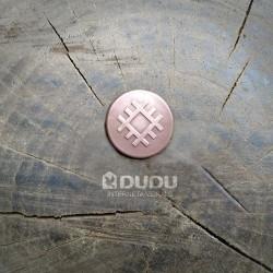 """Kalta vara monēta """"Latvju zīme Aka"""""""