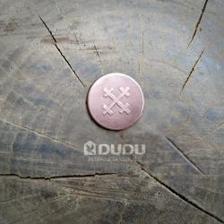 """Kalta vara monēta """"Latvju zīme Māras krusts"""""""
