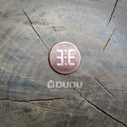 """Kalta vara monēta """"Latvju zīme Ūsiņš"""""""