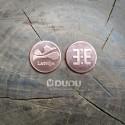 """Kalta vara monēta """"Latvija / Latvju zīme Ūsiņš"""""""