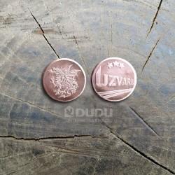 """Kalta vara monēta """"Pūķis / Uzvara"""""""