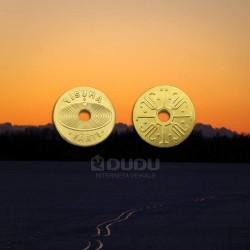 """Misiņa monēta """"Visuma vārti"""""""