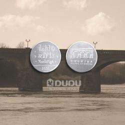 """Alumīnija monēta, žetons """"Lido zivis Kuldīgā"""""""