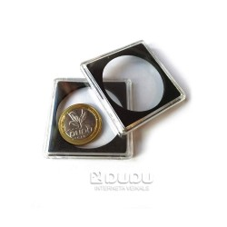 Coin capsule for 40mm coin