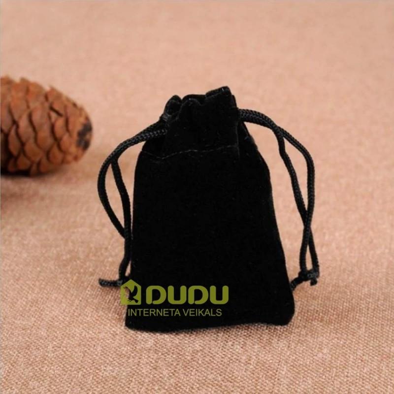 Melns velveta maisiņš