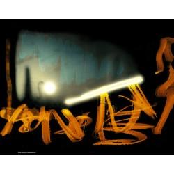 "Computer graphics, photomontage ""Light forge"""