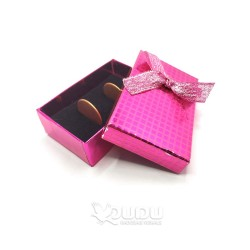 Pink box with a bow