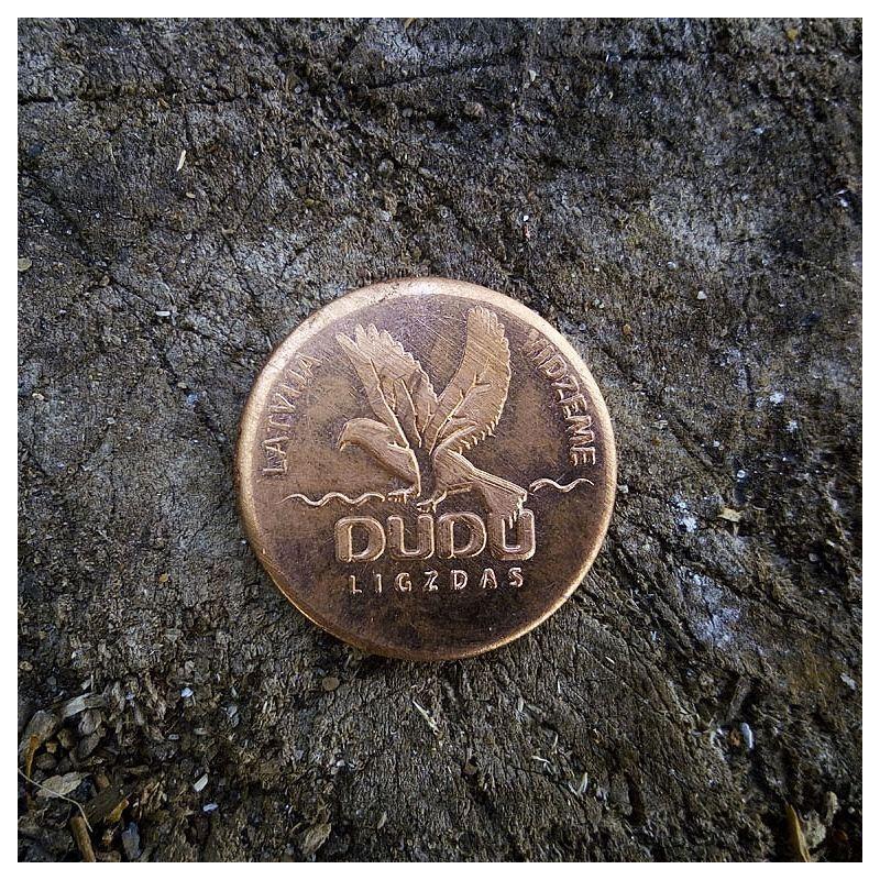 """Kalta vara monēta """"DUDU ligzdas"""""""