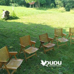 Folding wooden chairs for rent